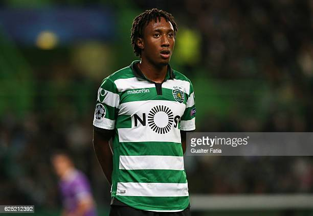 Sporting CP's forward Gelson Martins during the UEFA Champions League match between Sporting Clube de Portugal and Real Madrid CF at Estadio Jose...