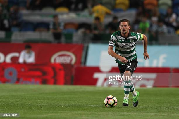 Sporting CP's midfielder Adrien Silva from Portugal during the Sporting CP v GD Chaves Portuguese Primeira Liga match at Estadio Jose Alvalade on May...