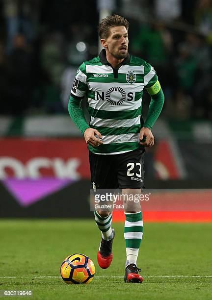 Sporting CP's midfielder Adrien Silva in action during the Primeira Liga match between Sporting CP and SC Braga at Estadio Jose Alvalade on December...