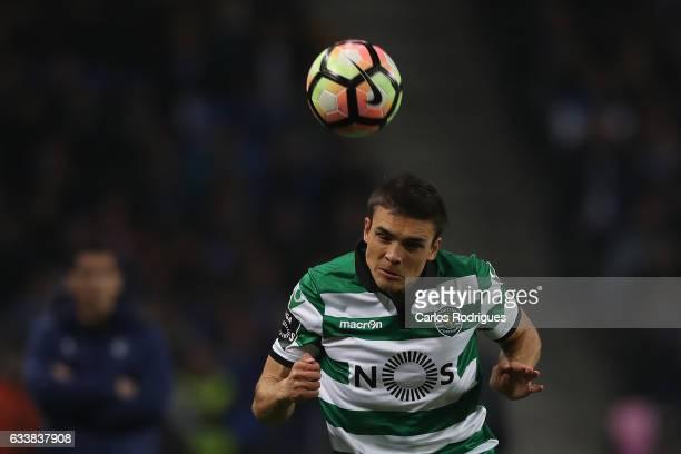 Sporting CP's midfielder Joao Palhinha from Portugal during the FC Porto v Sporting CP Primeira Liga match at Estadio do Dragao on February 04 2017...