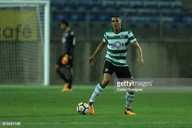 Sporting CP's midfielder Joao Palhinha from Portugal during the PreSeason Friendly match between Sporting CP and CF' Belenenses at Estadio do Algarve...