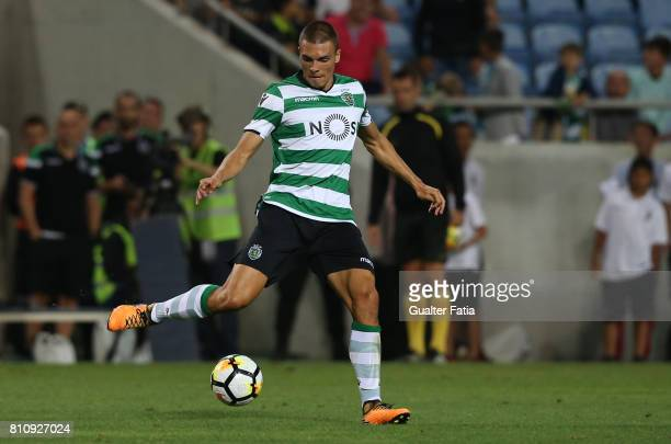 Sporting CPÕs midfielder Joao Palhinha from Portugal in action during the PreSeason Friendly match between Sporting CP and CF Os Belenenses at...