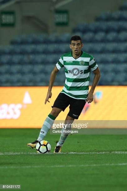 Sporting CP's midfielder Rodrigo Battaglia during the PreSeason Friendly match between Sporting CP and CF' Belenenses at Estadio do Algarve on July...