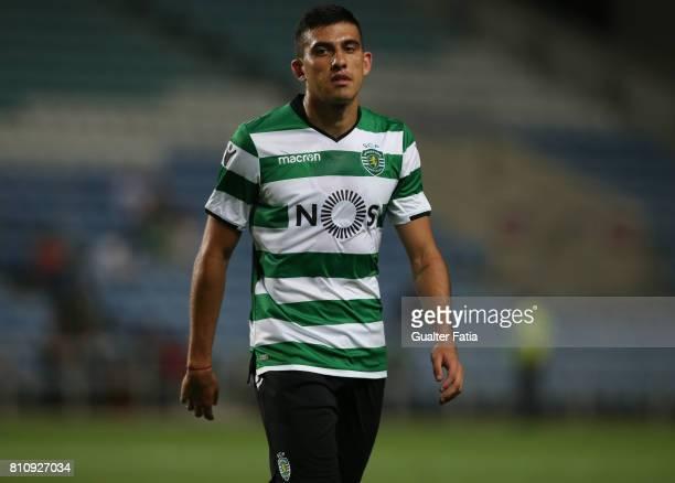 Sporting CPÕs midfielder Rodrigo Battaglia from Argentina during the PreSeason Friendly match between Sporting CP and CF Os Belenenses at Estadio...
