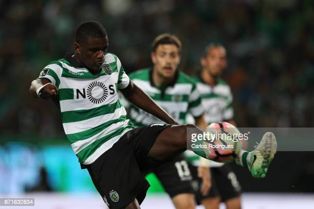 Sporting CP's midfielder William Carvalho from Portugal during the Sporting CP v SL Benfica Portuguese Primeira Liga match at Estadio Jose Alvalade...