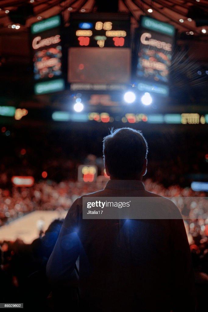 Sporting Event Spectator - Madison Square Garden