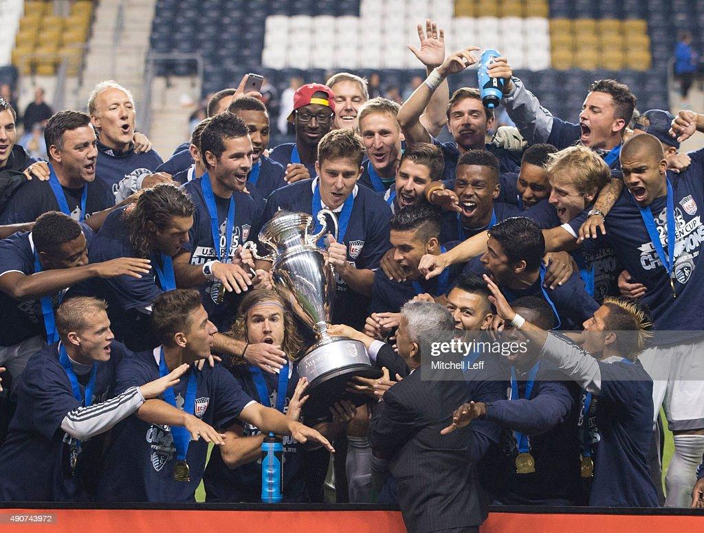 Sporting Kansas City v Philadelphia Union: 2015 U.S. Open Cup - Final