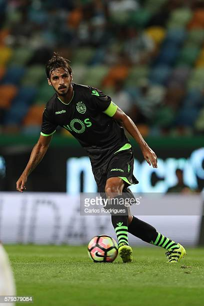 Sporting's forward Bryan Ruiz during the Friendly match between Sporting CP and Lyon at Estadio Jose Alvalade on July 23 2016 in Lisbon Portugal