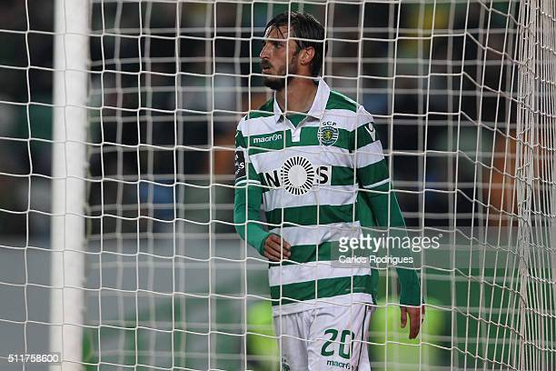 Sporting's forward Bryan Ruiz during the match between Sporting CP and Boavista FC for the Portuguese Primeira Liga at Jose Alvalade Stadium on...