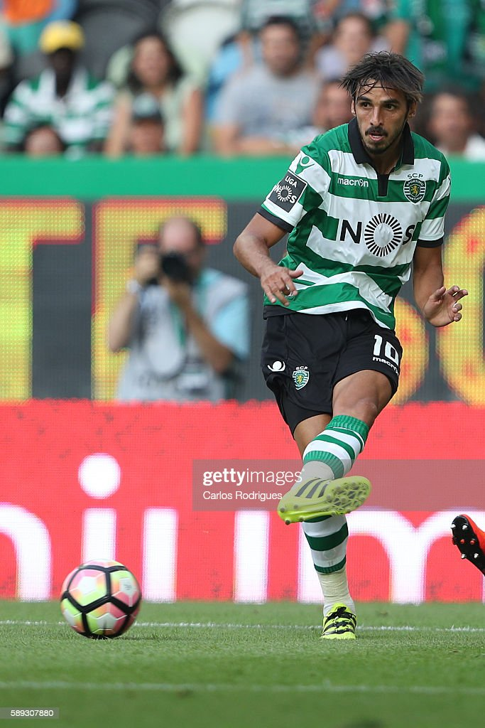 Sporting's forward Bryan Ruiz from Costa Rica during the Portuguese Primeira Liga between Sporting CP and CS Maritimo at Estadio Jose Alvalade on...