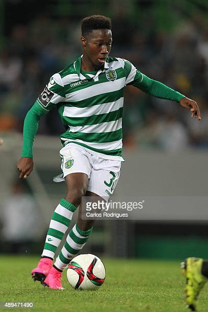 Sporting's forward Carlos Mane during the match between Sporting CP and FC CD Nacional at Jose Alvalade Satdum on September 21 2015 in Lisbon Portugal