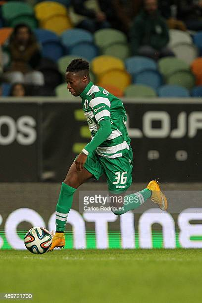 Sporting's forward Carlos Mane during the Primeira Liga Portugal match between Sporting CP and Vitoria Setubal at Estadio Jose Alvalade on November...
