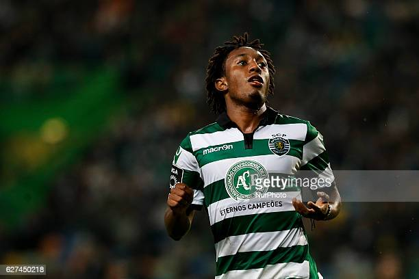 Sporting's forward Gelson Martins during Premier League 2016/17 match between Sporting CP vs Vitoria FC in Lisbon on December 03 2016