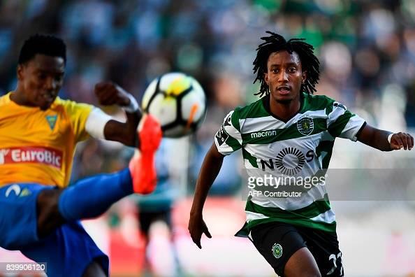 Gelson Martins foi uma das figuras do encontro