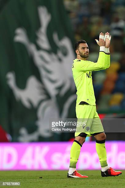 Sporting's goalkeeper Rui Patricio during the Friendly match between Sporting CP and Lyon at Estadio Jose Alvalade on July 23 2016 in Lisbon Portugal