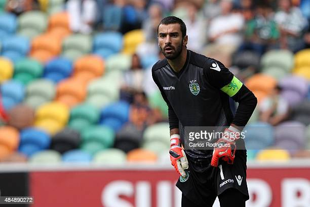 Sporting's goalkeeper Rui Patricio during the match between Sporting CP and FC Pacos de Ferreira at Jose Alvalade Stadium on August 22 2015 in Lisbon...