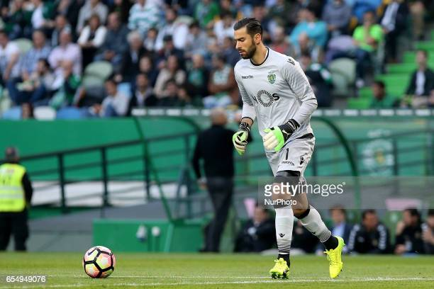 Sportings goalkeeper Rui Patricio from Portugal during Premier League 2016/17 match between Sporting CP and CD Nacional at Alvalade Stadium in Lisbon...