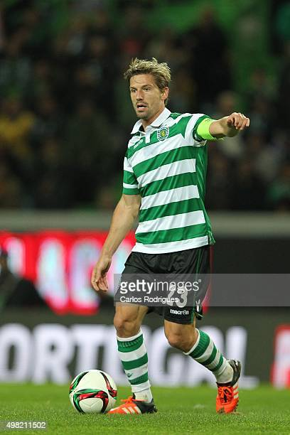 Sporting's midfielder Adrien Silva during the match between Sporting CP and SL Benfica for the Portuguese Cup at Jose Alvalade Stadium on November 21...