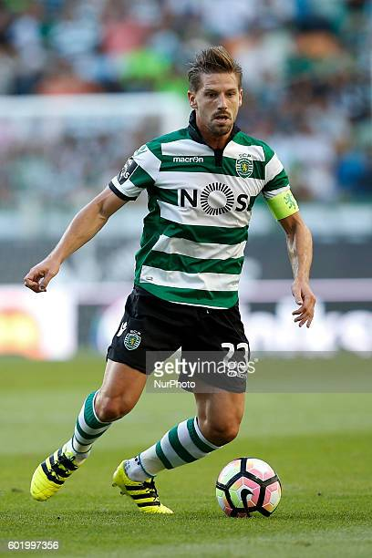 Sporting's midfielder Adrien Silva in action during Premier League 2016/17 match between Sporting CP vs Moreirense FC in Lisbon on September 10 2016