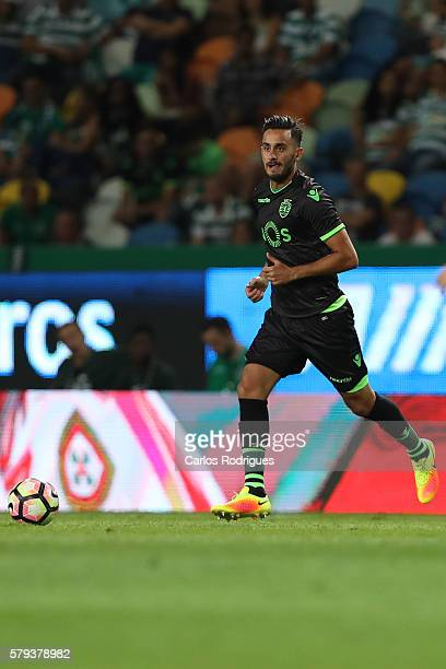 Sporting's midfielder Alberto Aquilani during the Friendly match between Sporting CP and Lyon at Estadio Jose Alvalade on July 23 2016 in Lisbon...