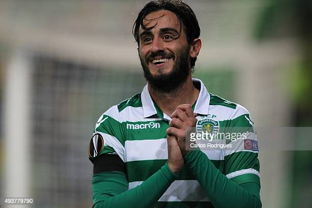 Sporting's midfielder Alberto Aquilani during the match between Sporting CP and KF Skenderbeu for UEFA Europe League Group Round on October 22 2015...