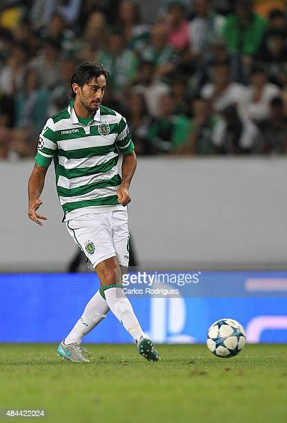 Sporting's midfielder Alberto Aquilani during the UEFA Champions League qualifying round playoff first leg match between Sporting CP and CSKA Moscow...