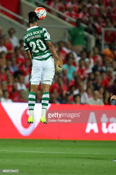 Sporting's midfielder Bryan Ruiz during the Portuguese Super Cup match between SL Benfica and Sporting CP at Estadio Algarve on August 9 2015 in Faro...