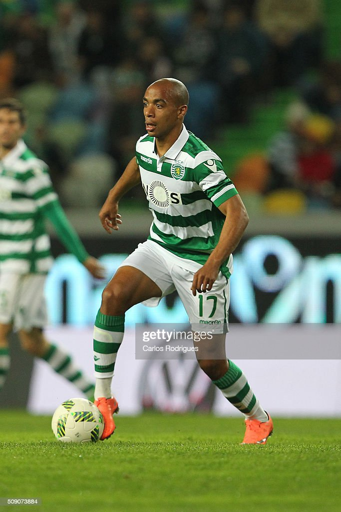 Sporting's midfielder Joao Mario during the match between Sporting CP and Rio Ave FC for the Portuguese Primeira Liga at Jose Alvalade Stadium on February 08, 2016 in Lisbon, Portugal.