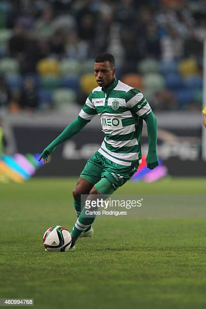 Sporting's midfielder Nani during Portuguese League match between Sporting CP and Estoril Praia SAD at Estadio Jose Alvalade on January 3 2015 in...