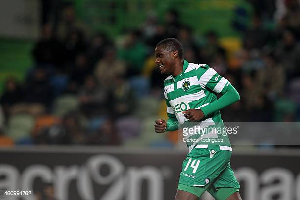 Sporting's midfielder William Carvalho during Portuguese League match between Sporting CP and Estoril Praia SAD at Estadio Jose Alvalade on January 3...