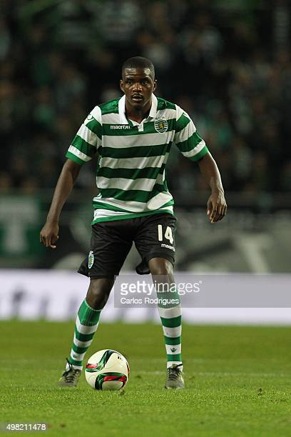 Sporting's midfielder William Carvalho during the match between Sporting CP and SL Benfica for the Portuguese Cup at Jose Alvalade Stadium on...