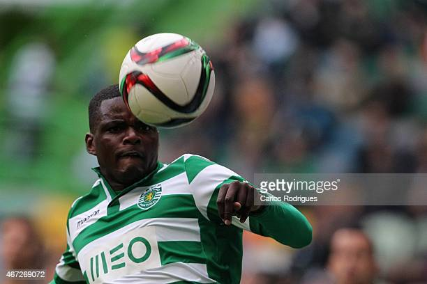 Sporting's midfielder William Carvalho during the Primeira Liga Portugal match between Sporting CP and Vitoria Guimaraes at Estadio Jose Alvalade on...