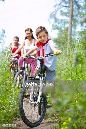 Sportiva figlio : Foto stock