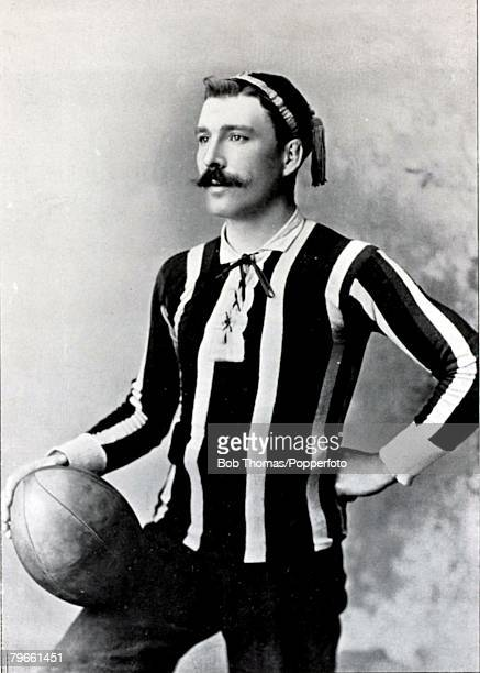 Sport/Rugby Union circa 1896 ECooke captain of Leicester a forward he has also represented Midland Counties