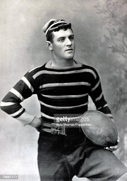 Sport/Rugby Union circa 1896 ERedman who played for Leicester and also Midlands Counties