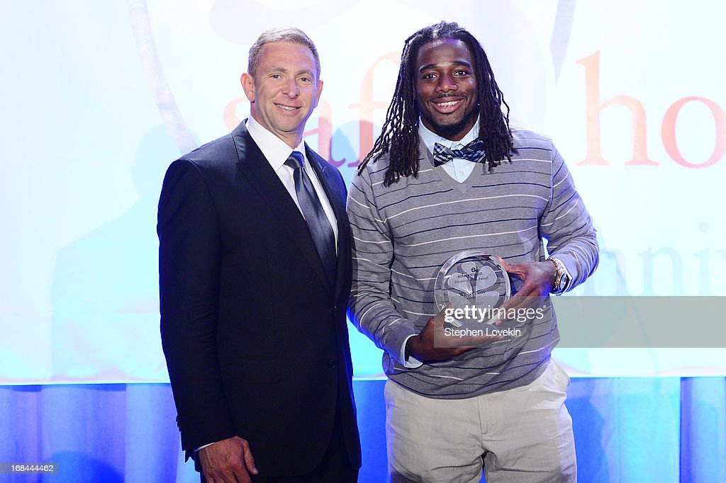 Sports agent Jerrold Colton (L) and professional football player William Gay attend Safe Horizon's 35th anniversary celebration at its annual gala at Pier Sixty at Chelsea Piers on May 9, 2013 in New York City.