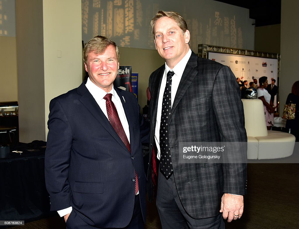 Sports agent <a gi-track='captionPersonalityLinkClicked' href=/galleries/search?phrase=Leigh+Steinberg&family=editorial&specificpeople=221448 ng-click='$event.stopPropagation()'>Leigh Steinberg</a> and NFL head coach <a gi-track='captionPersonalityLinkClicked' href=/galleries/search?phrase=Jack+Del+Rio&family=editorial&specificpeople=184508 ng-click='$event.stopPropagation()'>Jack Del Rio</a> attend the 29th Annual <a gi-track='captionPersonalityLinkClicked' href=/galleries/search?phrase=Leigh+Steinberg&family=editorial&specificpeople=221448 ng-click='$event.stopPropagation()'>Leigh Steinberg</a> Super Bowl Party on February 6, 2016 in San Francisco, California.