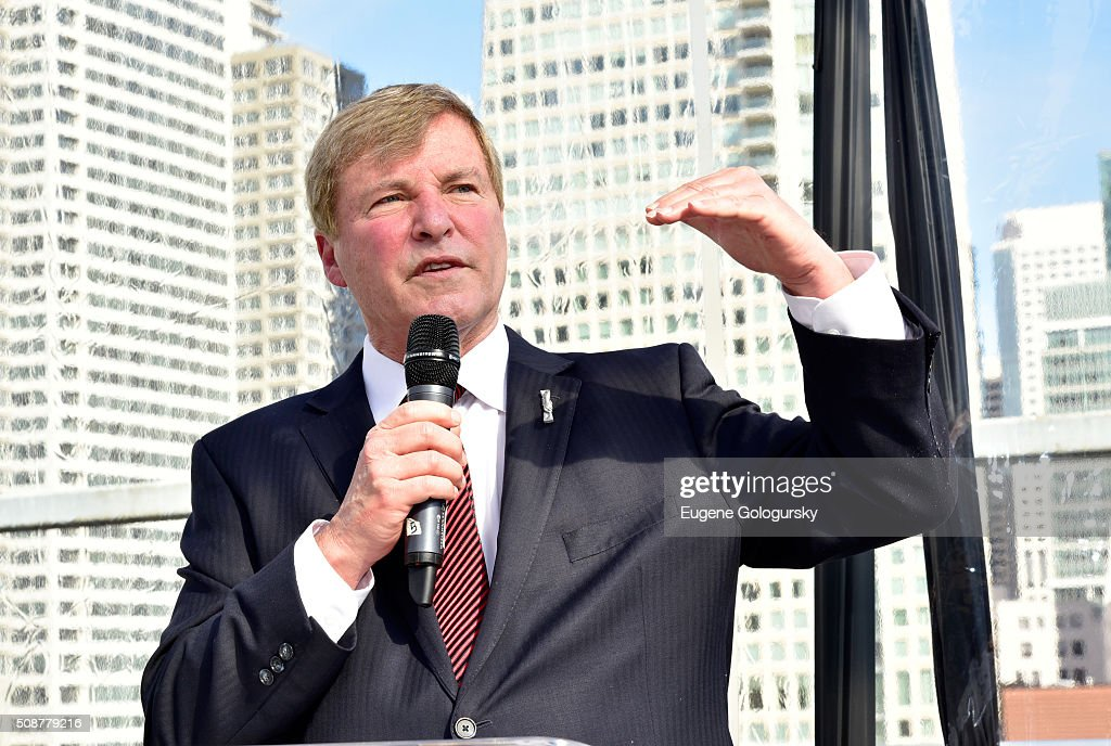 Sports agent <a gi-track='captionPersonalityLinkClicked' href=/galleries/search?phrase=Leigh+Steinberg&family=editorial&specificpeople=221448 ng-click='$event.stopPropagation()'>Leigh Steinberg</a> speaks during the 29th Annual <a gi-track='captionPersonalityLinkClicked' href=/galleries/search?phrase=Leigh+Steinberg&family=editorial&specificpeople=221448 ng-click='$event.stopPropagation()'>Leigh Steinberg</a> Super Bowl Party on February 6, 2016 in San Francisco, California.
