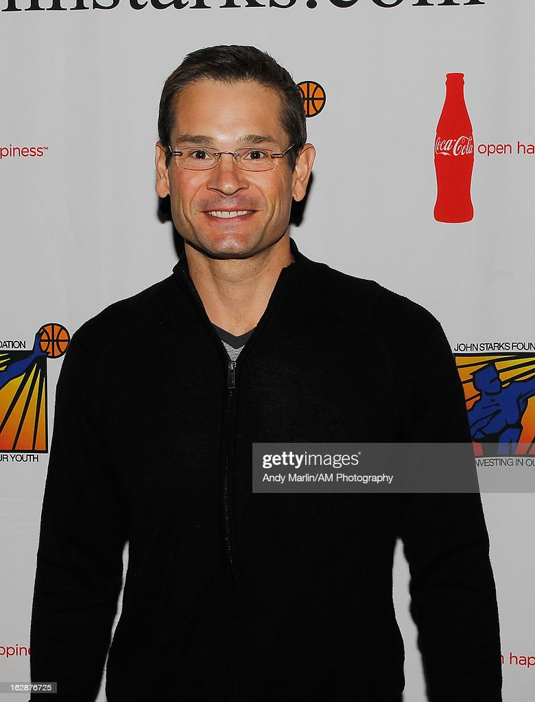 Sports anchor for Fox 5 Duke Castiglione poses for a photo during the John Starks Foundation Celebrity Bowling Tournament on February 25, 2013 in New York City.