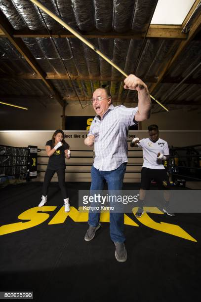 Where Are They Now Portrait of Victor Conte during photo shoot at the SNAC System training facility Conte who ran the BALCO lab at the center of...