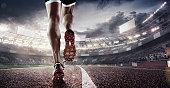 Sport. Runner. 3d render