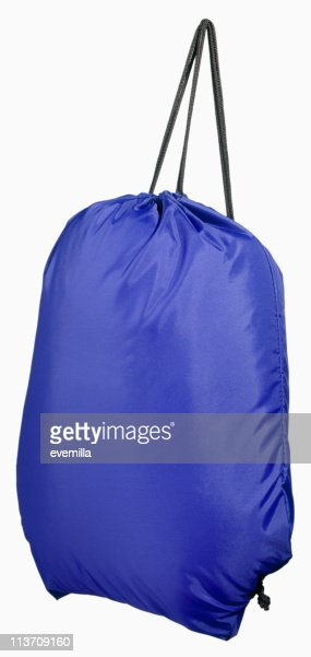 sports bag cut out on white