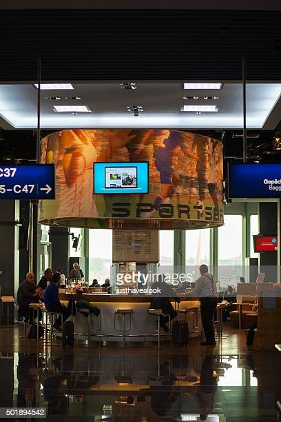 Sports bar in airport Düsseldorf