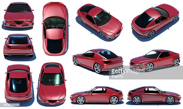 Sports car 360