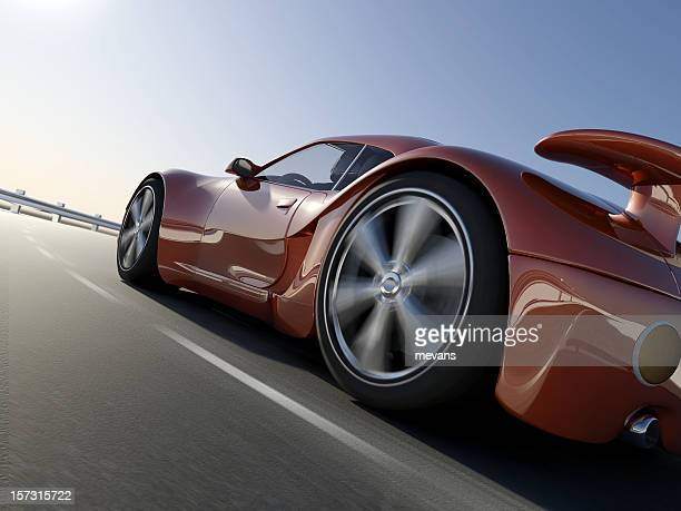 Coupe Sports Car