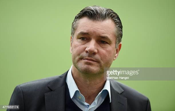 Sports director Michael Zorc of Dortmund seen prior to the Bundesliga match between 1899 Hoffenheim and Borussia Dortmund at Wirsol RheinNeckarArena...
