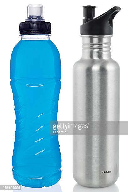 Sports drink and steel bottle