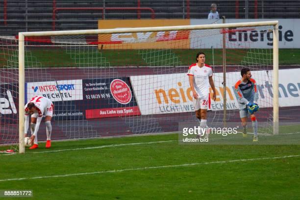 sports football Regional League West 2016/2017 Rot Weiss Oberhausen vs Rot Weiss Essen 22 Stadium Niederrhein in Oberhausen scene of the match 10...