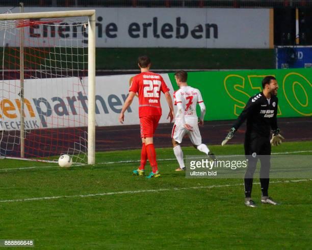 sports football Regional League West 2016/2017 Rot Weiss Oberhausen vs Rot Weiss Essen 22 Stadium Niederrhein in Oberhausen scene of the match 12...