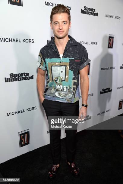 Sports Illustrated Fashionable 50 honoree Robbie Rogers at Sports Illustrated 2017 Fashionable 50 Celebration at Avenue on July 18 2017 in Los...